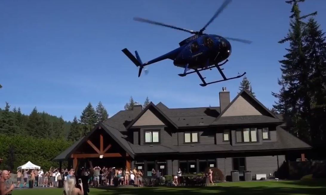 Helicopters The British Columbia story