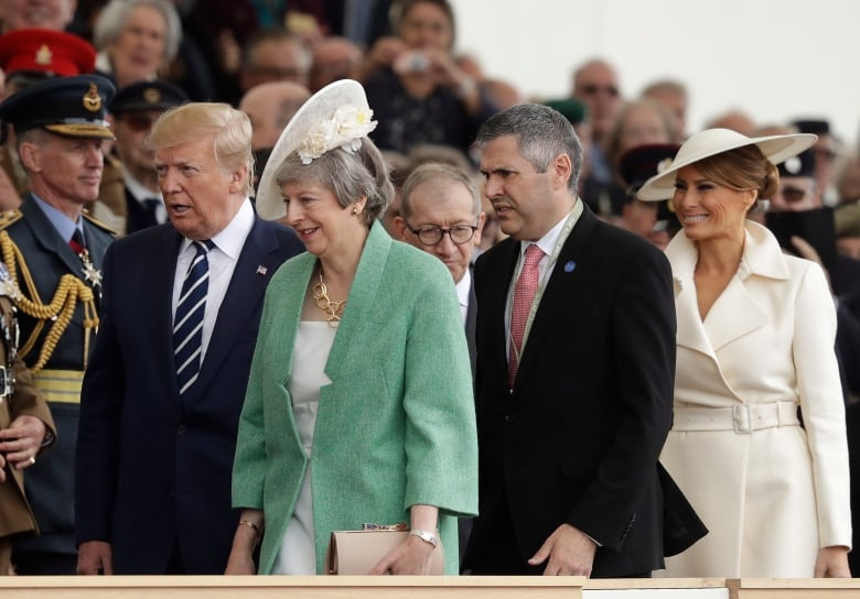 Trudeau joins Trump, May for D-Day remembrance events in U.K.