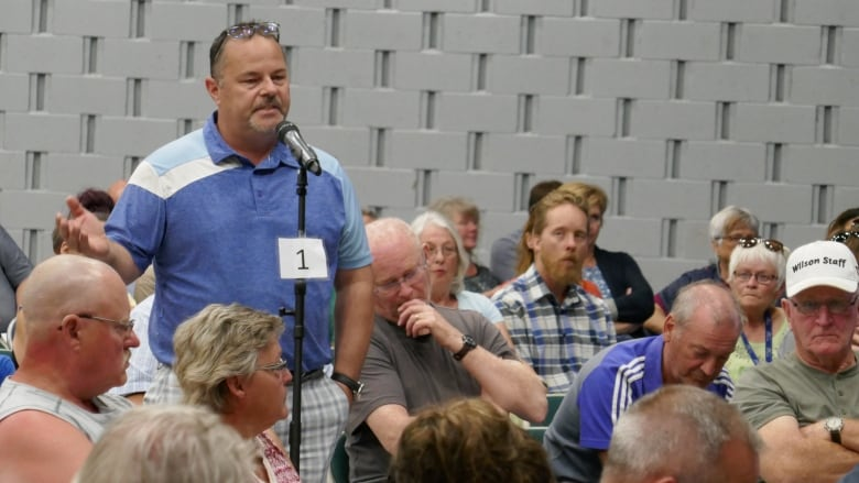 'Our town has turned into a hellhole': Emotions run high at Vernon town hall on downtown issues