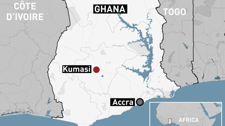 Ghana police investigate kidnapping of 2 Canadian women