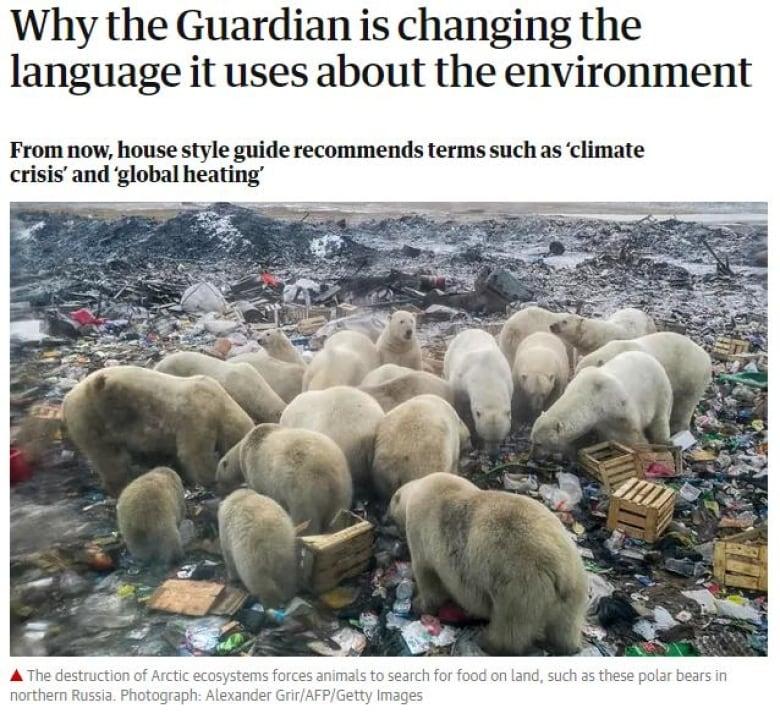'climate crisis'?