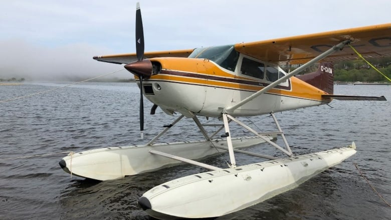 Floatplanes land on Quidi Vidi Lake in celebration of historic transatlantic flight