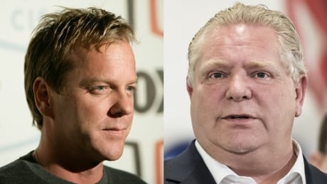 Kiefer Sutherland Doug Ford Tommy Douglas Twitter