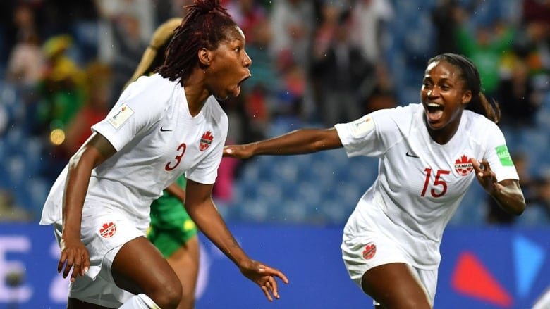 Canada scores opening-match win at FIFA Women's World Cup
