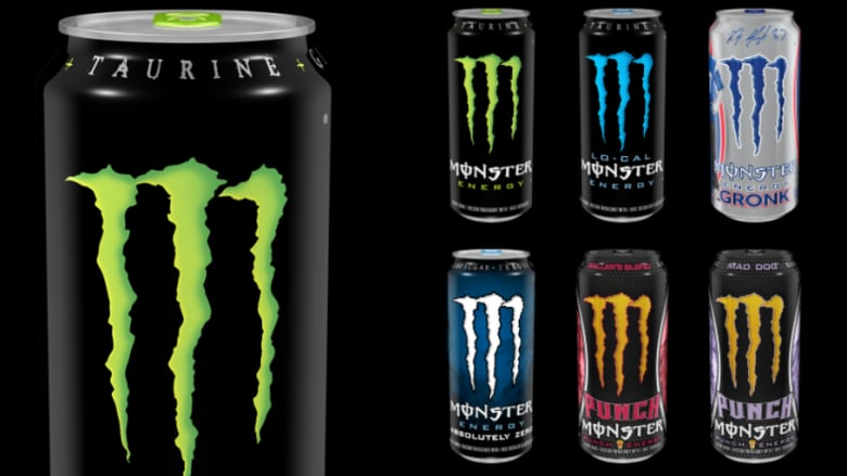 Monster Energy Drink Claims Raptors Logo Too Similar To Its Own Cbc News