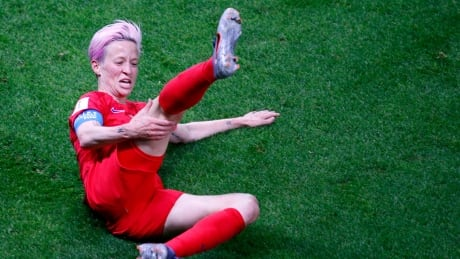 Americans' soccer celebrations a little too much for social media