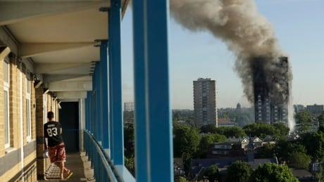 Grenfell Tower fire survivors, victims' families join lawsuit against U.S. companies