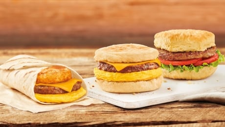 Tim Hortons-Beyond Meat- Breakfast Sandwiches