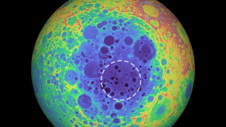 Scientists Find Strange Mass At Moons South Pole Cbc News