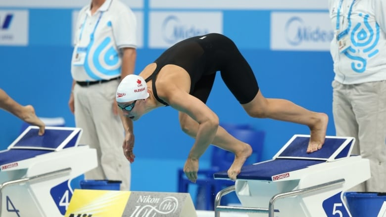 Penny Oleksiak picks up 'important win' on Mare Nostrum swimming circuit
