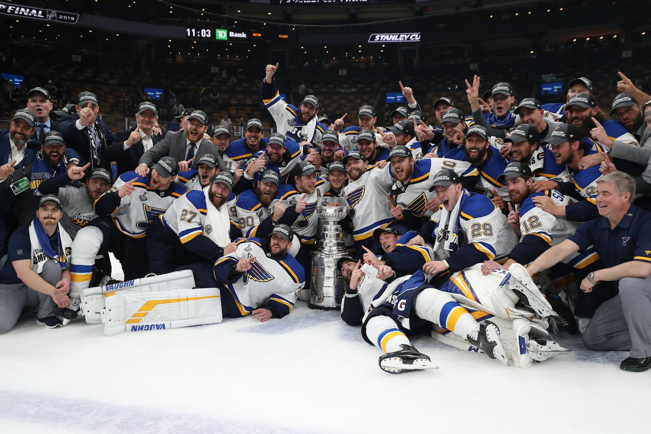 Chumps To Champs St Louis Blues Complete Improbable Journey To