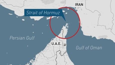 Tankers Strait of Hormuz Gulf of Oman