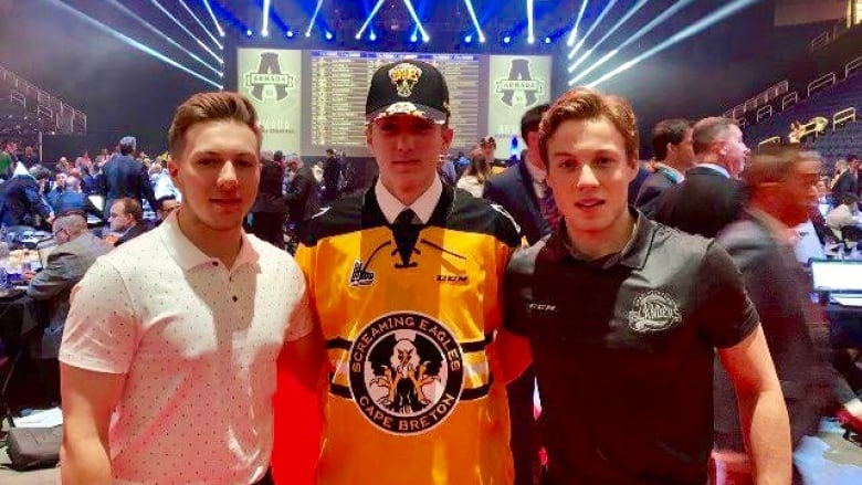 A hat trick: Zach Welsh third brother from same family taken in QMJHL draft