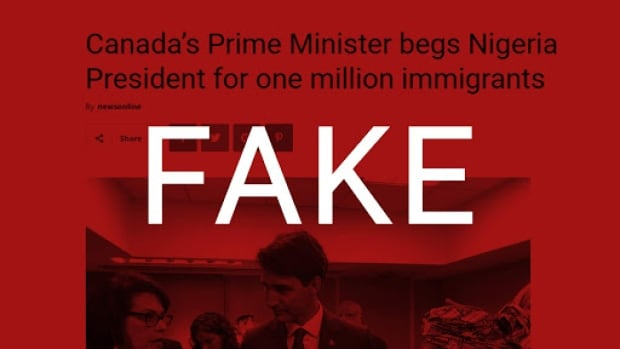Fake online stories claim Trudeau begged foreign leaders 'to
