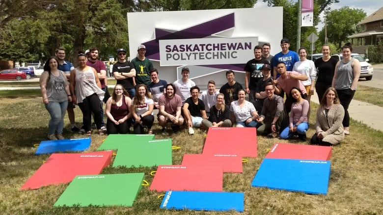 Ramping up access: Moose Jaw students learn about accessibility issues by building free ramps for businesses