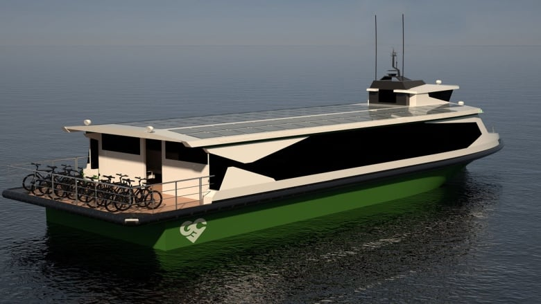 Charlottetown company aims to build Lake Ontario ferry