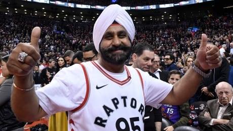 Nav Bhatia Raptors superfan NBA finals