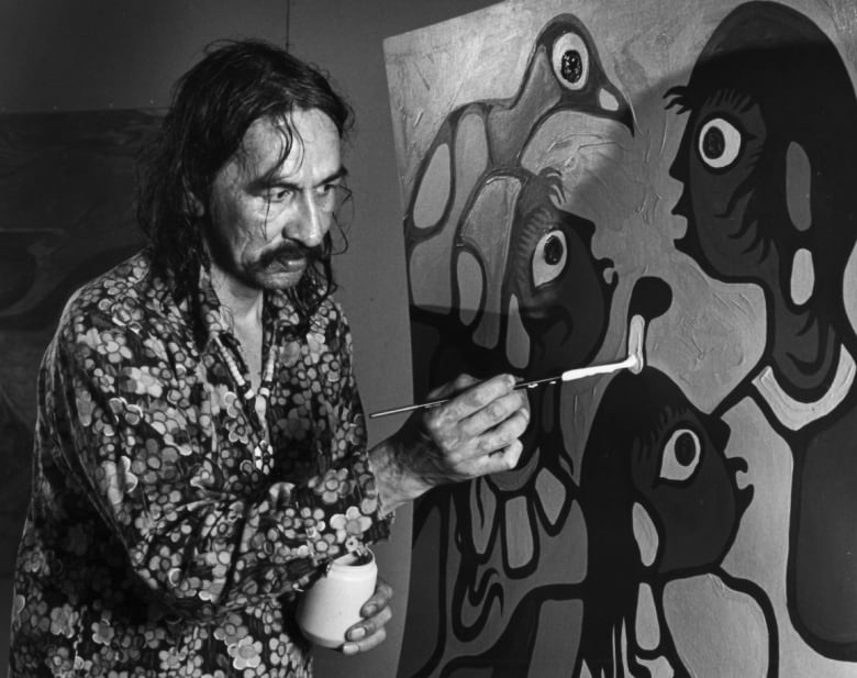 How Norval Morrisseau, late 'Picasso of the North,' landed