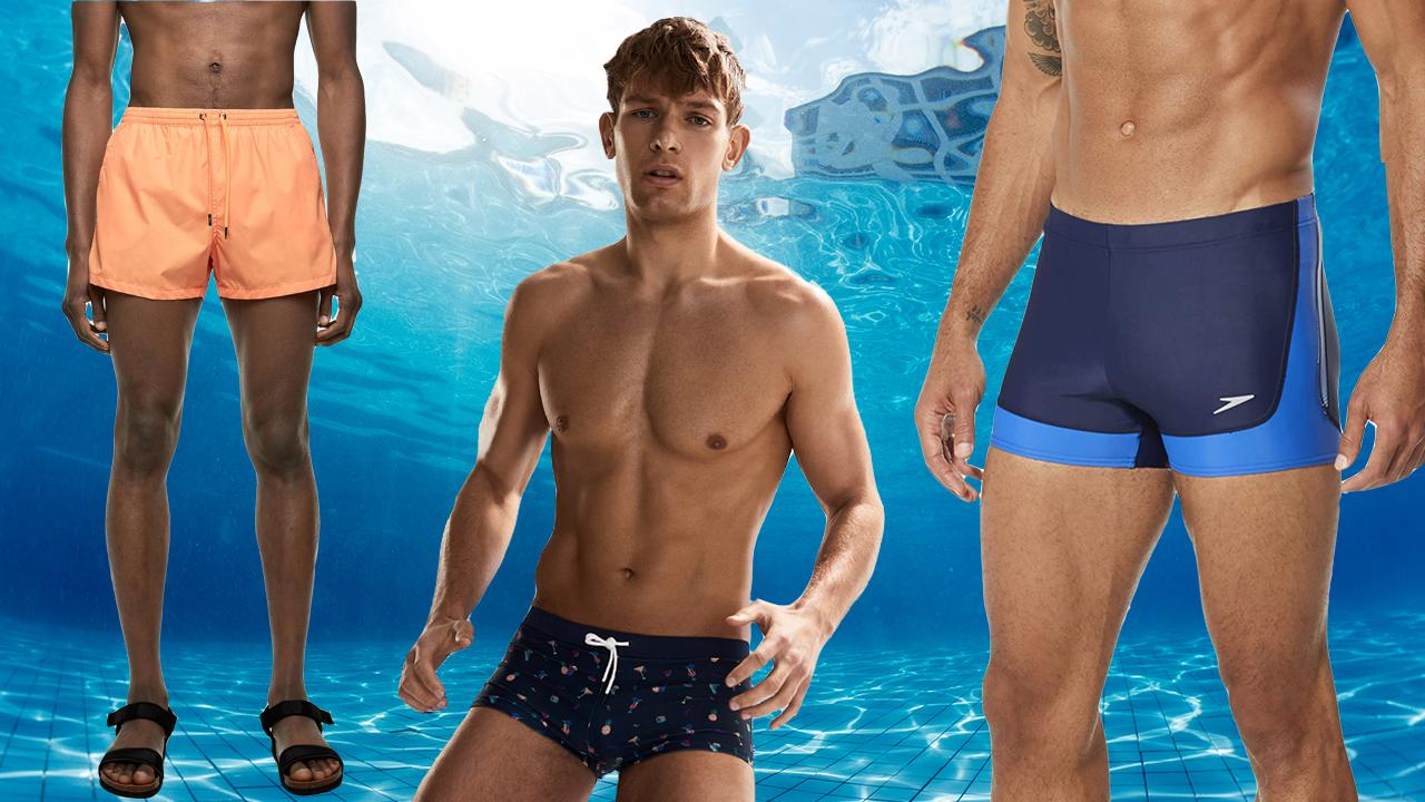 Men Swim Board Shorts All Tiger All The Time Stretch Board Drawstring Waist Beach Wear Shorts Fully Lined