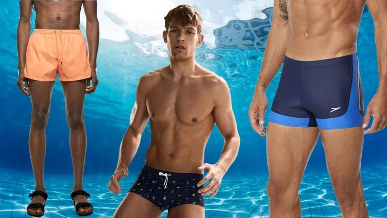 cdf6342c86595 14 stylish swimwear picks for men this summer. From swim trunks to shorts...  and a speedo ...