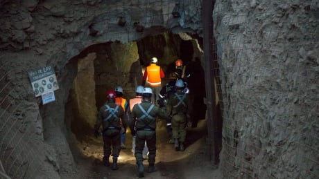 Chile Trapped Miners