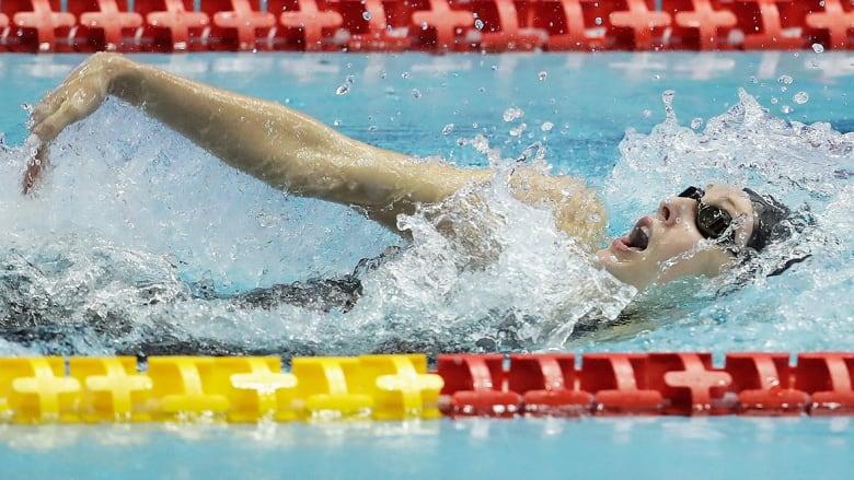 Taylor Ruck rules women's 100m backstroke at Mare Nostrum meet