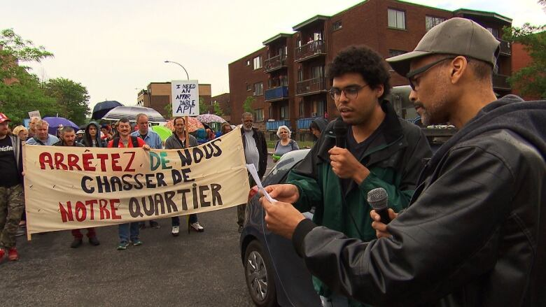 Protesters decry evictions, rising rents and lack of social housing in Montreal