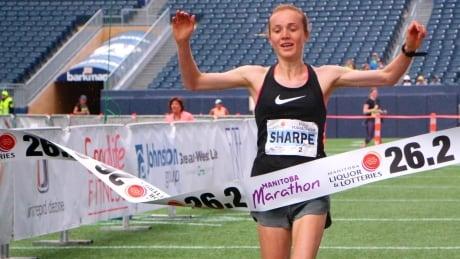 Selene Sharpe Manitoba Marathon