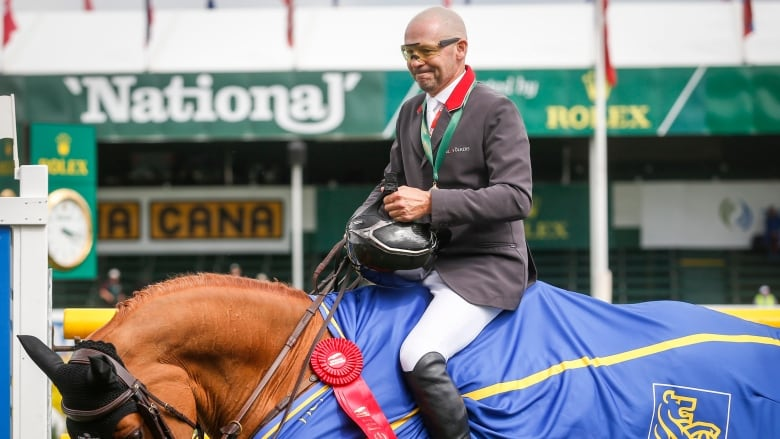 Eric Lamaze wins 2nd straight Grand Prix at Spruce Meadows