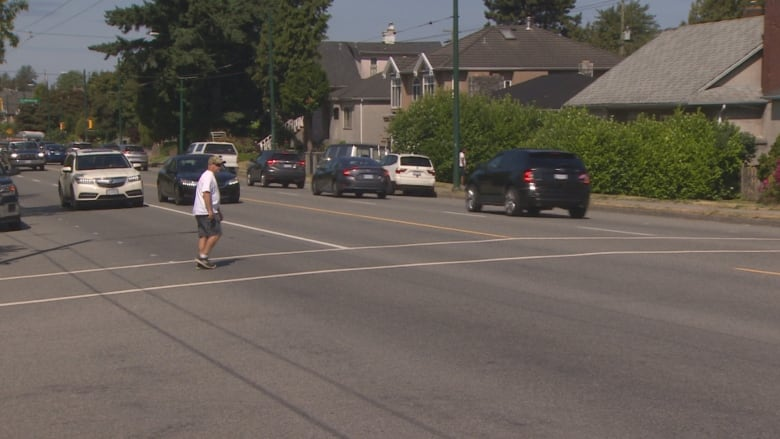 'It's terrifying': South Vancouver park users want better safety measures after pedestrian hit at crosswalk