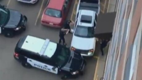 Edmonton police arrest video
