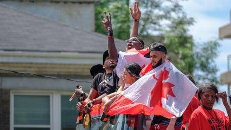 Toronto Raptors, parade, We The North Day