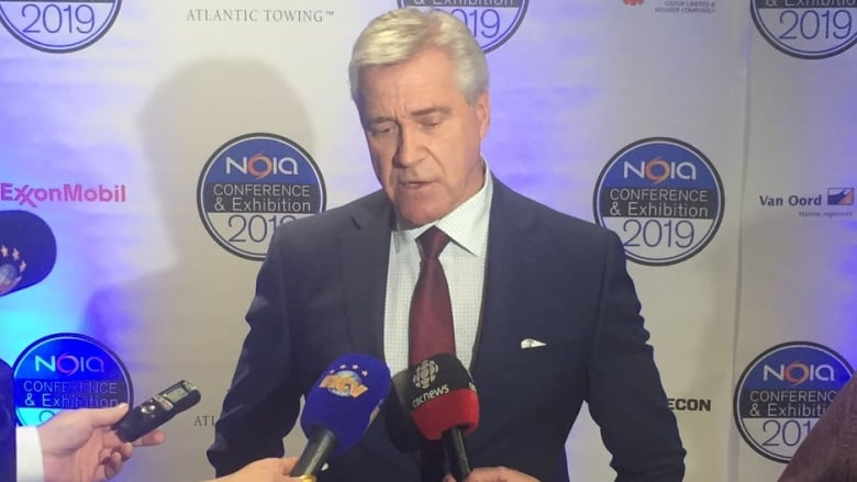 'Shared vision': Dwight Ball delivers keynote speech at oil conference