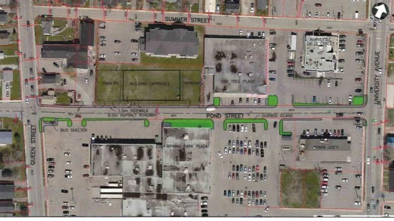 City of Charlottetown looks to redesign Pond Street
