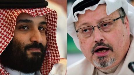 Mohammed bin Salman Jamal Khashoggi composite