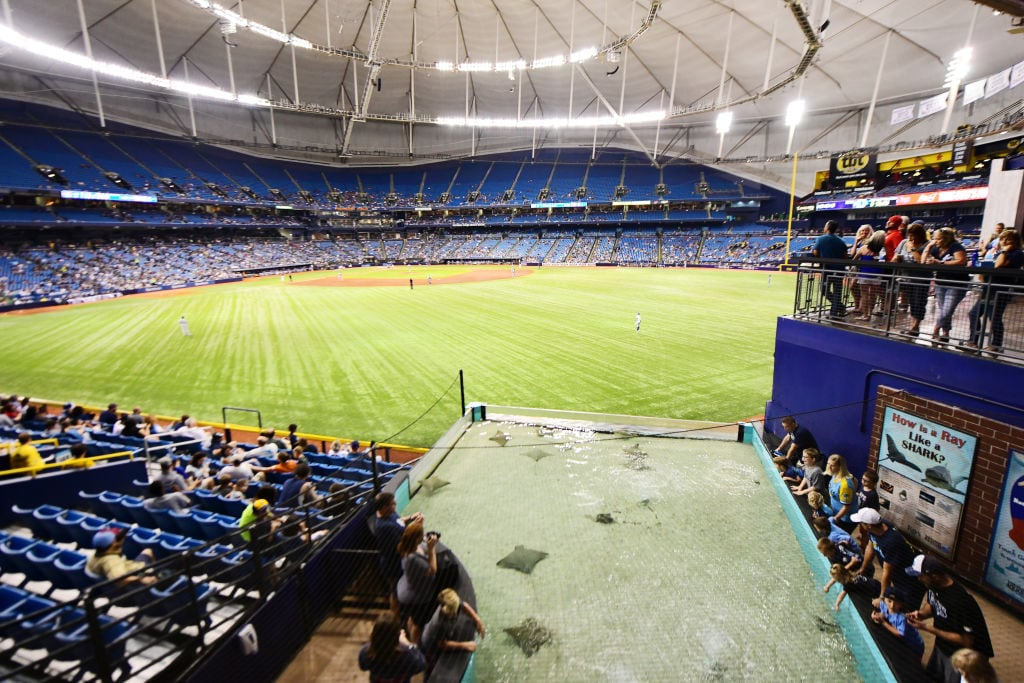 Tampa Bay Rays to explore playing some home games in