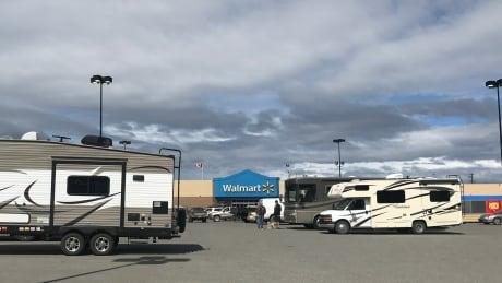Whitehorse Walmart RV