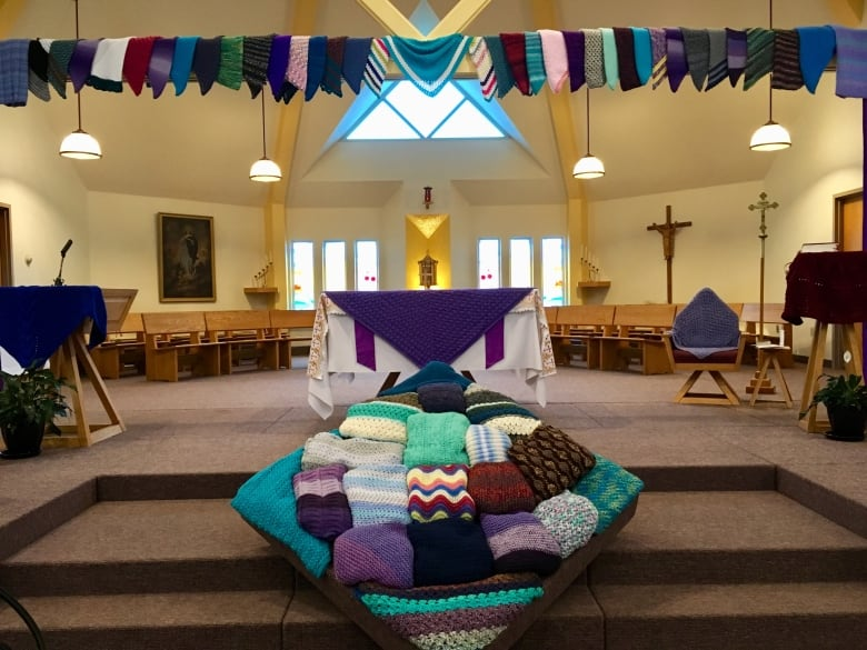 You have no idea what it means to me': P E I  prayer shawls