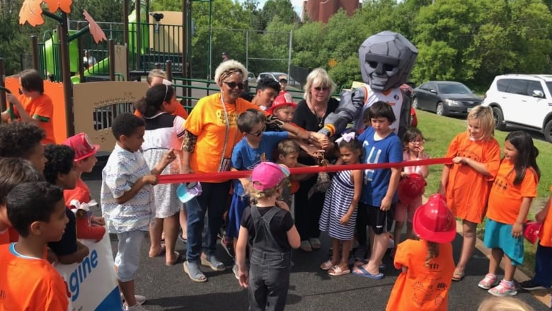 Sudbury revitalized playgrounds to be more inclusive