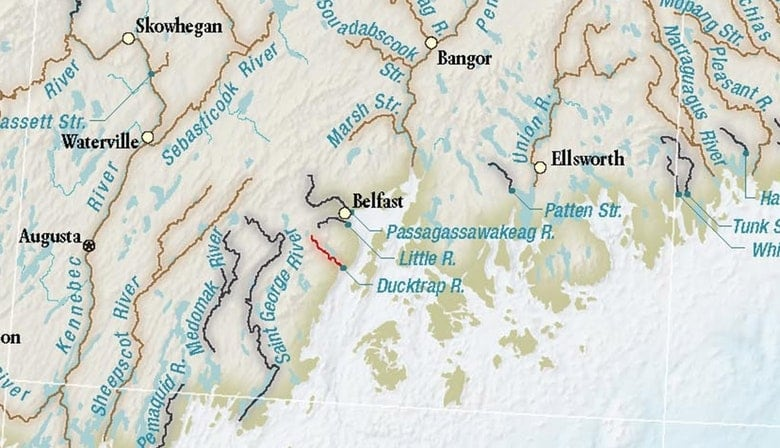 41 years later, a new map of wild Atlantic salmon rivers