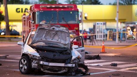 Toronto collision crash traffic