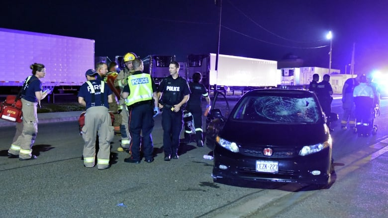 Driver charged after pedestrian critically hurt in Mississauga hit and run