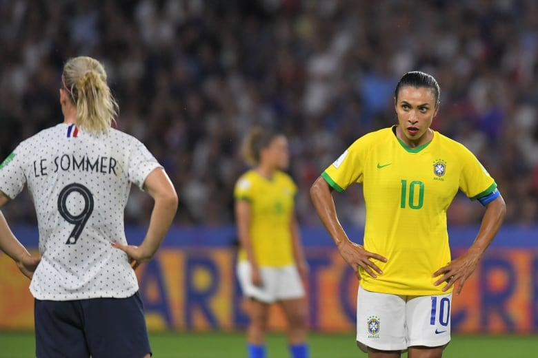 Amandine Henry Rescues France In Extra Time To Knock Out Brazil Cbc Sports
