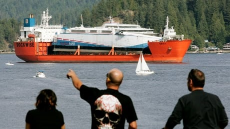 25 years ago, B.C.'s fast ferries were announced — spelling the beginning of the end for an NDP government