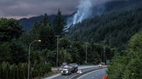 Sea-to-Sky Highway traffic to remain limited for several more days