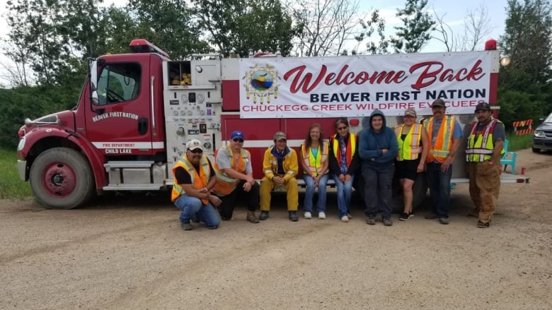 Wildfire evacuees from Beaver and Dene Tha' First Nations return home
