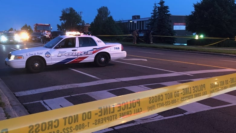 Man, 21, dead; officer in hospital after police-involved shooting in Scarborough