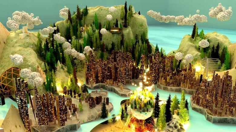 Canadian landscape or the best video game? Alex McLeod's worlds make