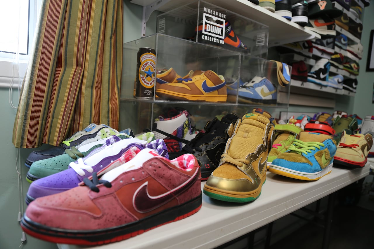 that lasts: Nike sneaker hobbyist might