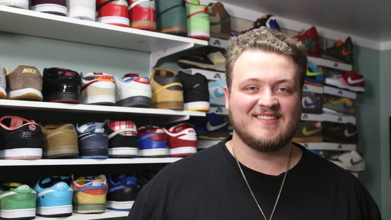 A passion that lasts: Nike sneaker hobbyist might have